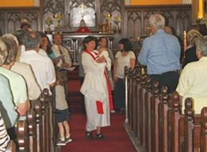 Baptism at St. Thomas, Millbrook