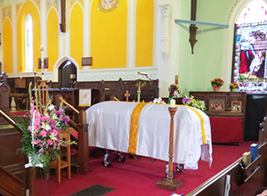 Funeral at St. Thomas, Millbrook
