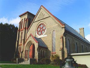 Exterior photo of St. Thomas's Millbrook